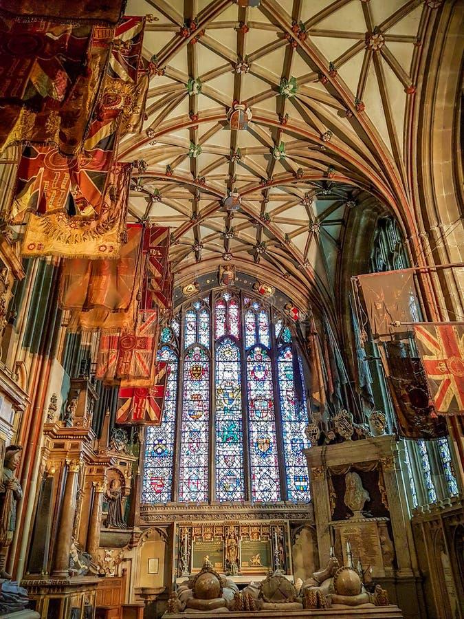 Canterbury katedra, Canterbury, Kent, Zjednoczone Królestwo fotografia stock