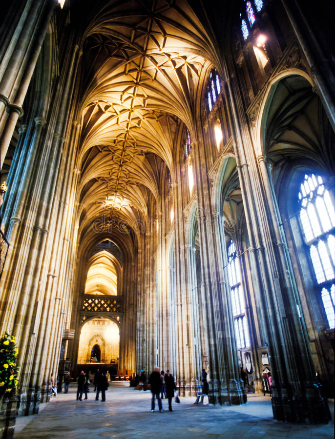 Canterbury katedra obraz stock