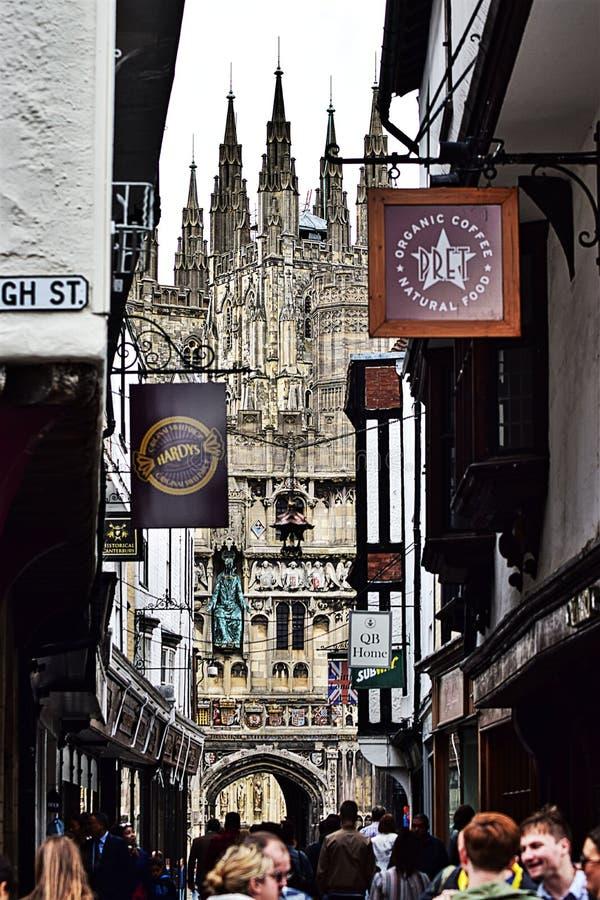 Canterbury stock photo