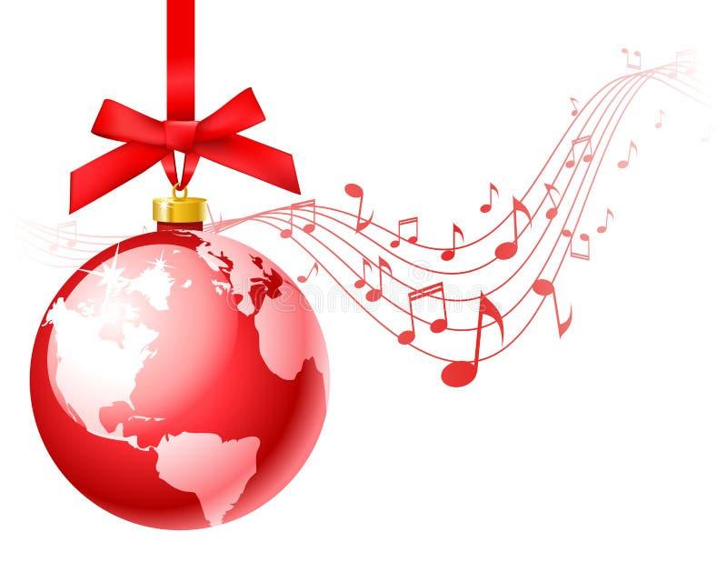 Canti natalizii di natale illustrazione vettoriale