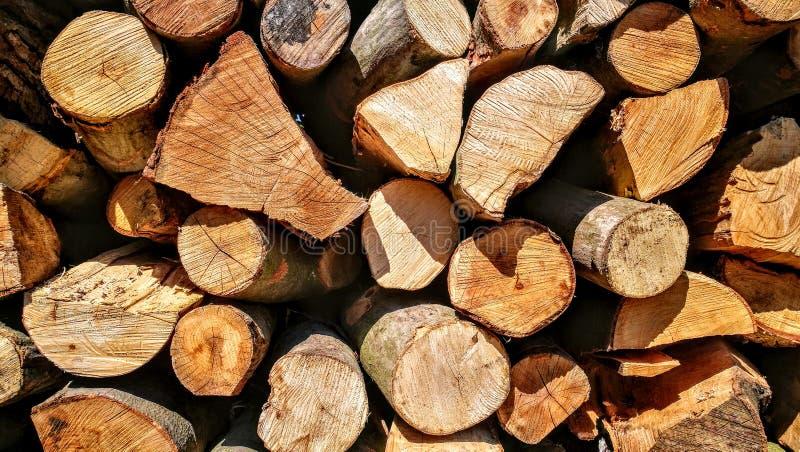 Cantidad de madera imagen de archivo