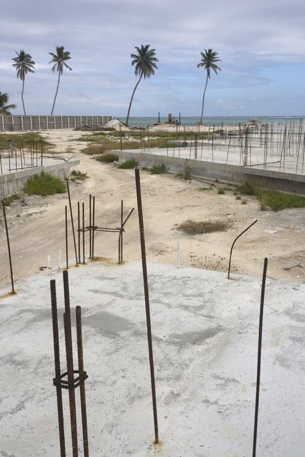 Cantiere abbandonato immagine stock
