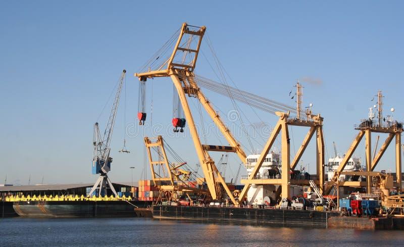 Cantiere navale di Rotterdam immagine stock