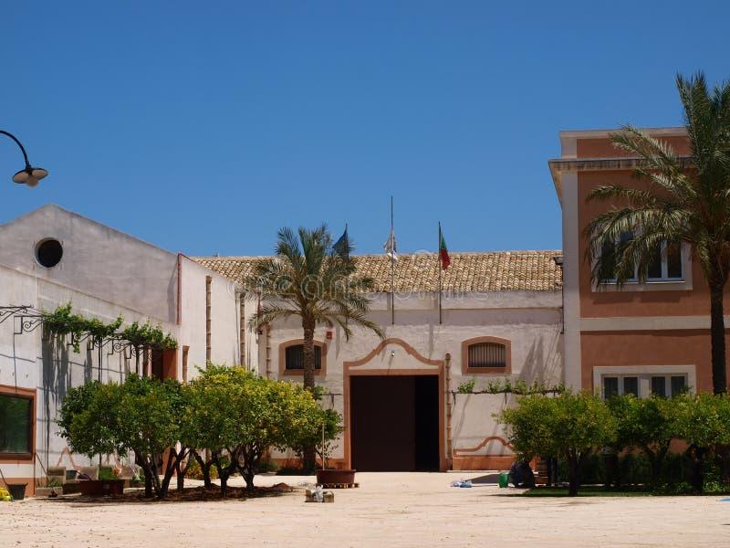 Cantina Donnafugata, Sicilia, Italia immagine stock