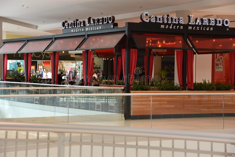 Cantina Laredo Modern Mexican Restaurant at Mall of America in Bloomington, Minnesota. USA stock image