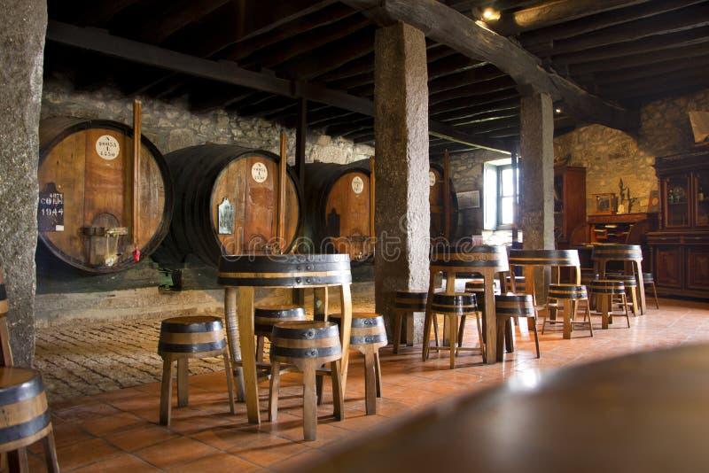 Cantina nella città di Oporto immagini stock
