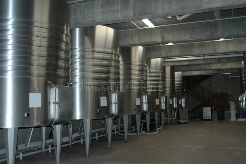Cantina per vini californiana immagini stock libere da diritti