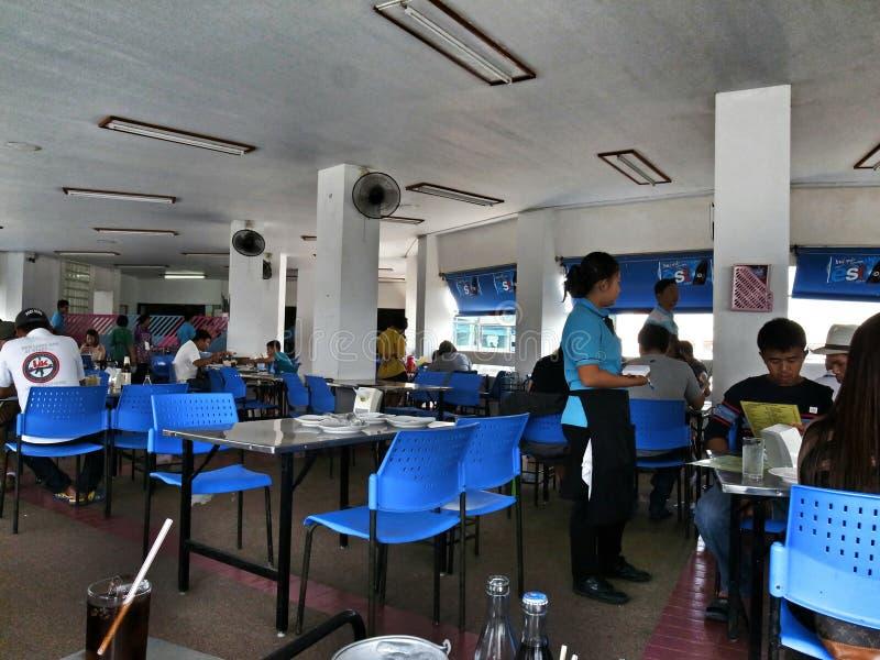 Cantine des musées antiques chez Samut Prakan, Thaïlande photographie stock