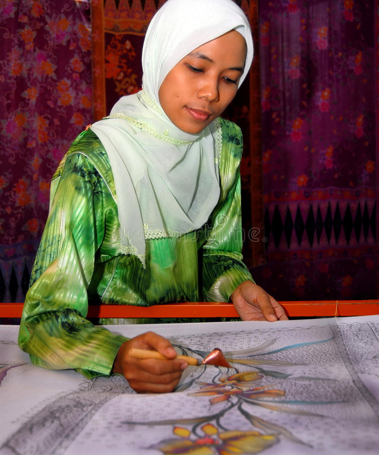 Canting Batik. A traditional batik hand tool from Indonesia royalty free stock photography