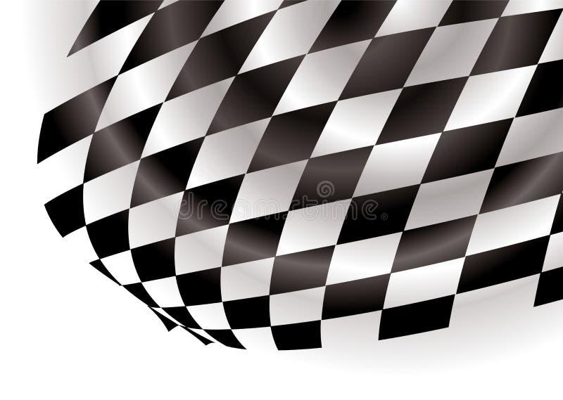 Canto Checkered ilustração royalty free