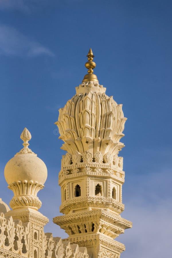 Canto da estrutura superior Tipu Sultan Mausoleum, Mysore, Índia fotos de stock