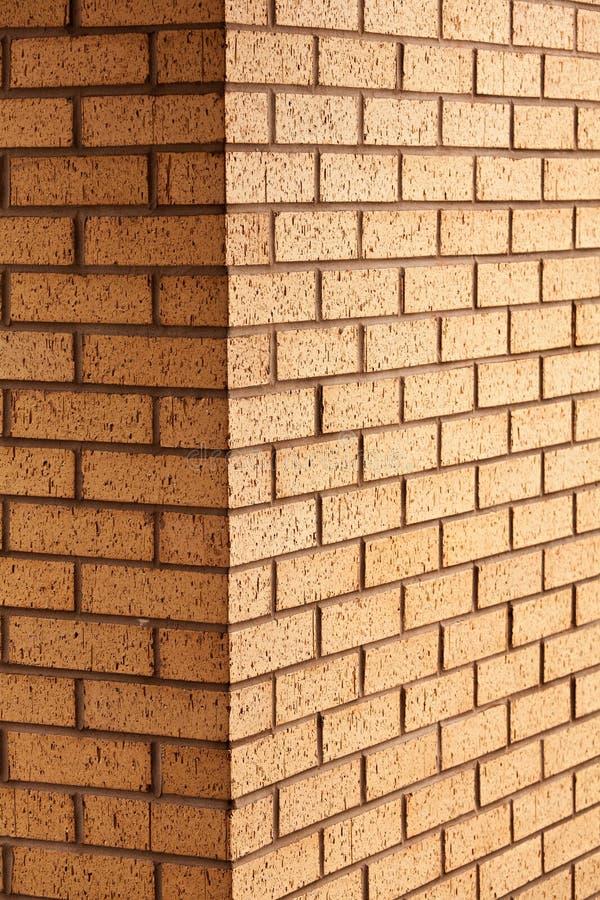 Canto da parede de tijolo imagem de stock royalty free