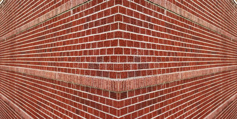 Canto de uma parede de tijolo foto de stock royalty free