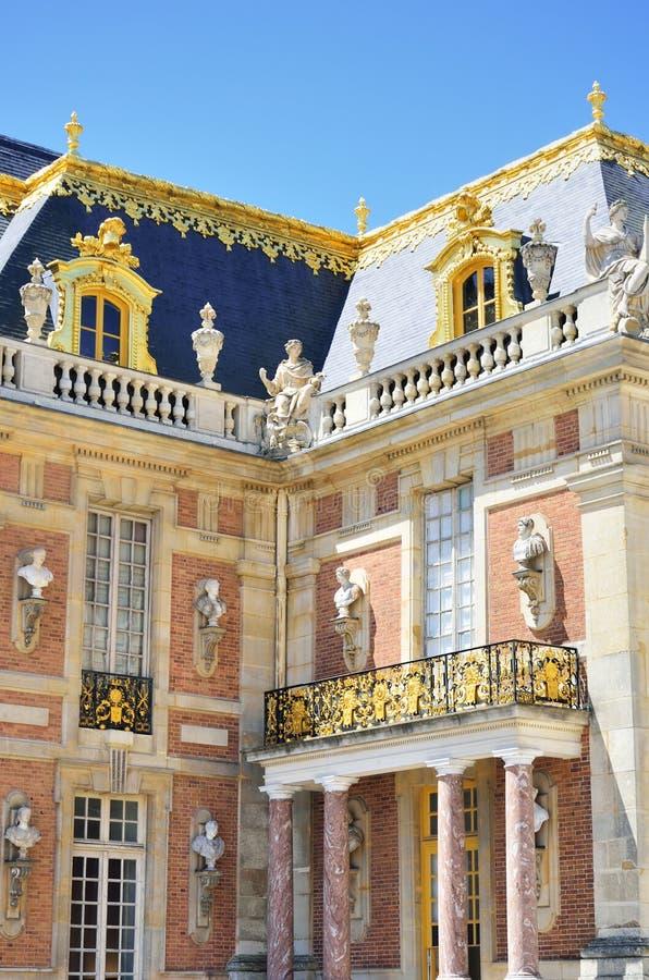 Canto do palácio no aspecto do retrato fotos de stock