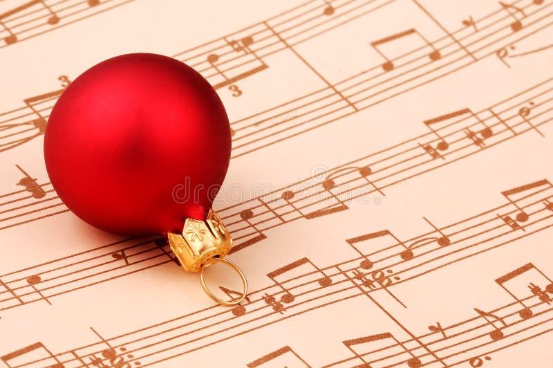 Canto natalizio di natale immagine stock