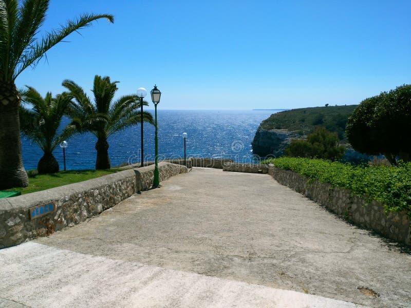 Canto pequeno perto de Cala Romantica, Mallorca, Balearic Island foto de stock