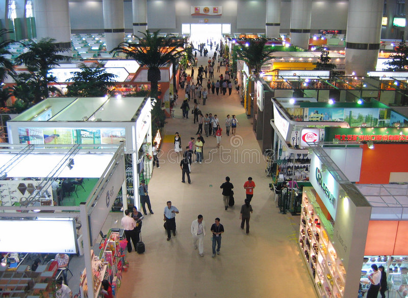 Download Canton fair editorial stock photo. Image of export, indoors - 7044558