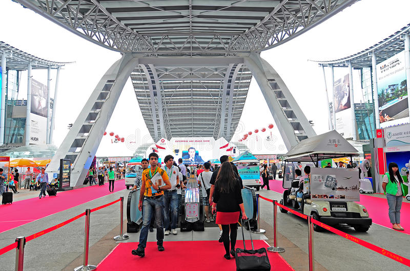 Download Canton fair arena editorial image. Image of pazhou, meeting - 27350880