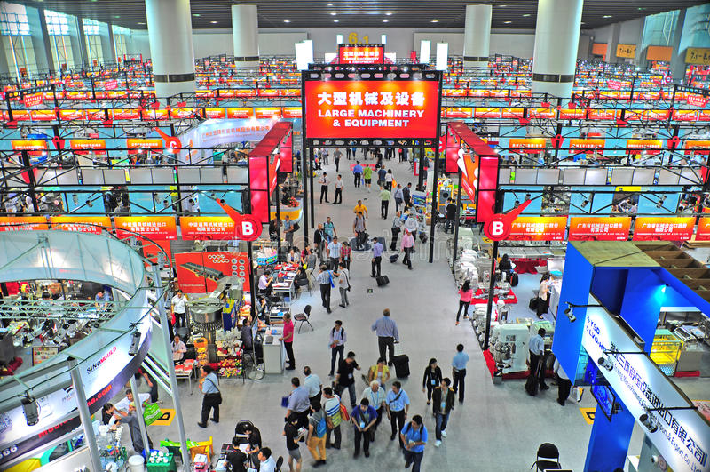 Download Canton Fair Hall 6.4, China 2012 Editorial Stock Image - Image: 27165549