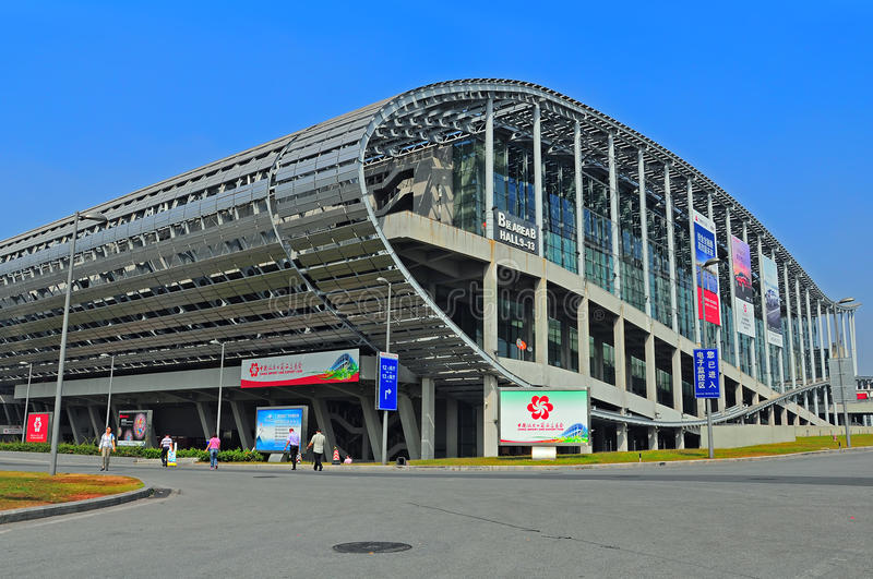 Download Canton fair pazhou complex editorial stock image. Image of pattern - 27338924