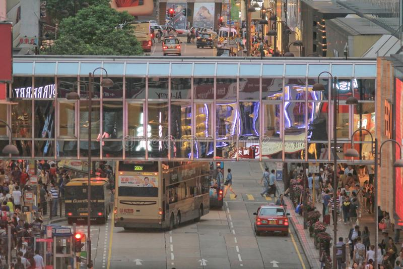 Canton Road Hong Kong 4 may 2014. 4 may 2014 Canton Road Hong Kong stock image