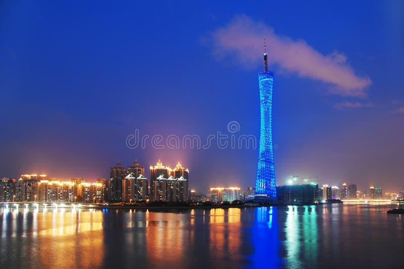 Canton tower stock photos