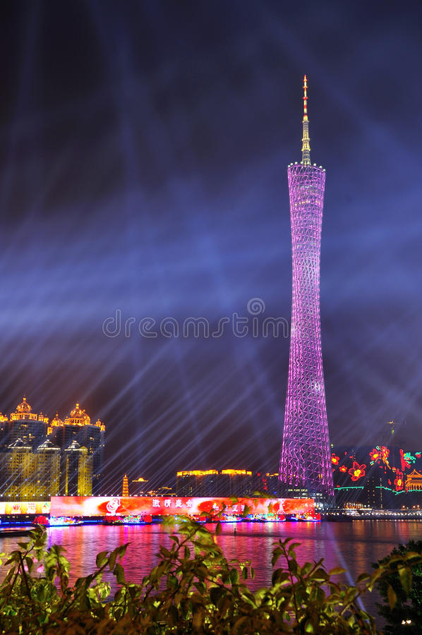 Canton Tower Stock Photography