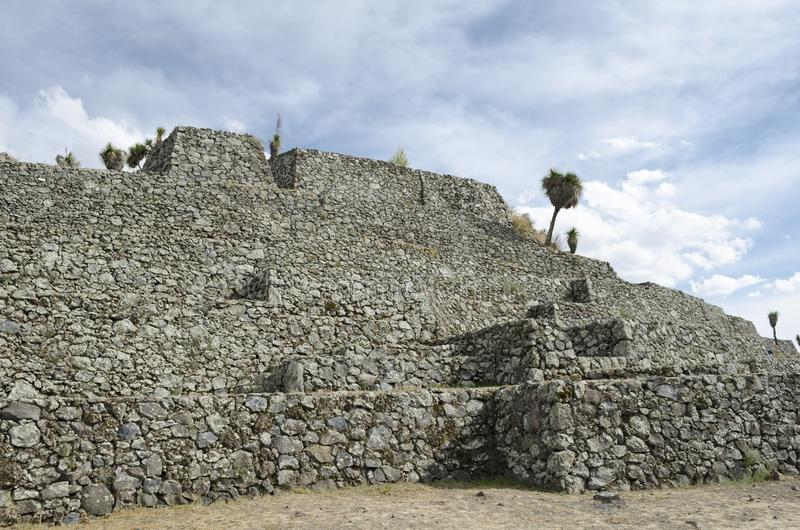 Cantona, Πουέμπλα, Μεξικό στοκ εικόνες