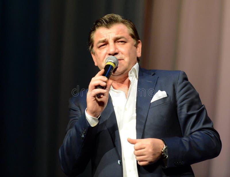 Cantor do russo e chanson famosos Konstantin Crimean fotos de stock royalty free