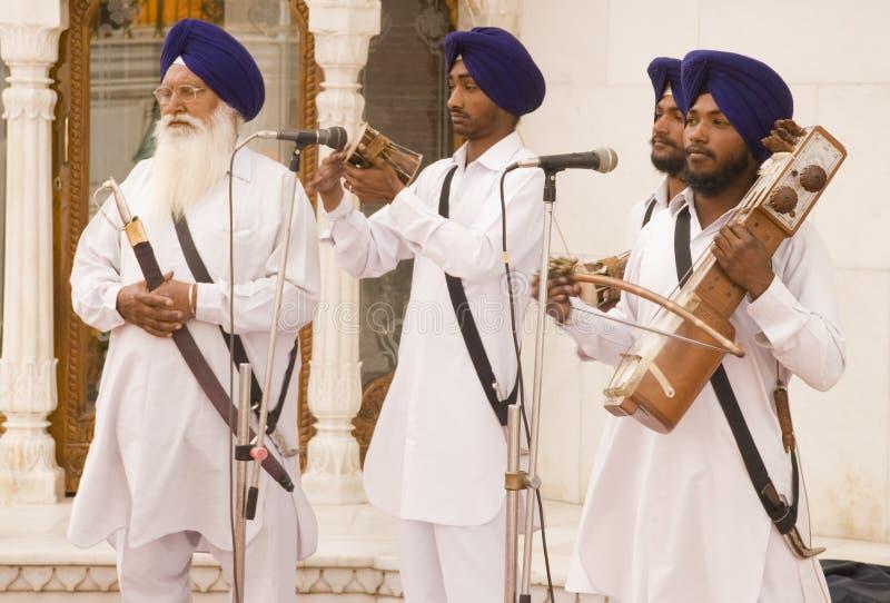 Cantores religiosos foto de stock royalty free