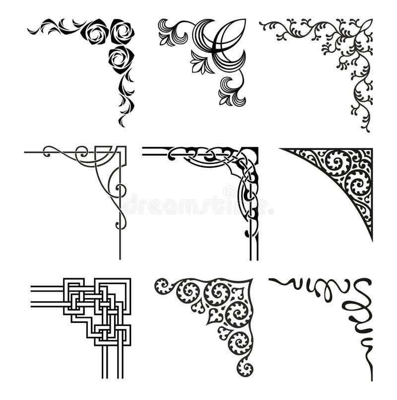 Cantos ilustração stock