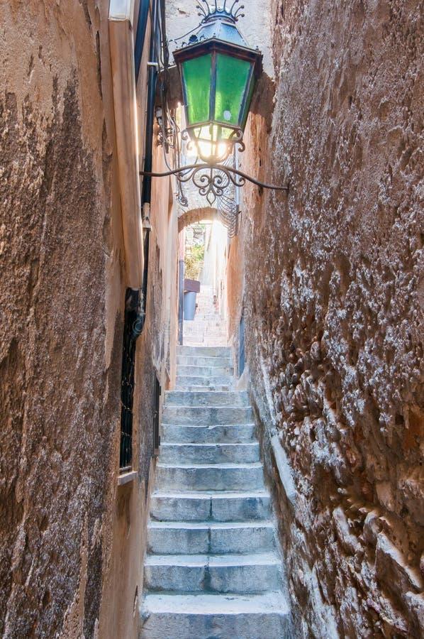 Cantos de Taormina fotografia de stock