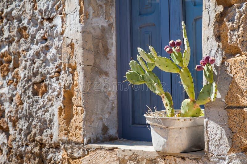 Cantos mediterrâneos fotografia de stock