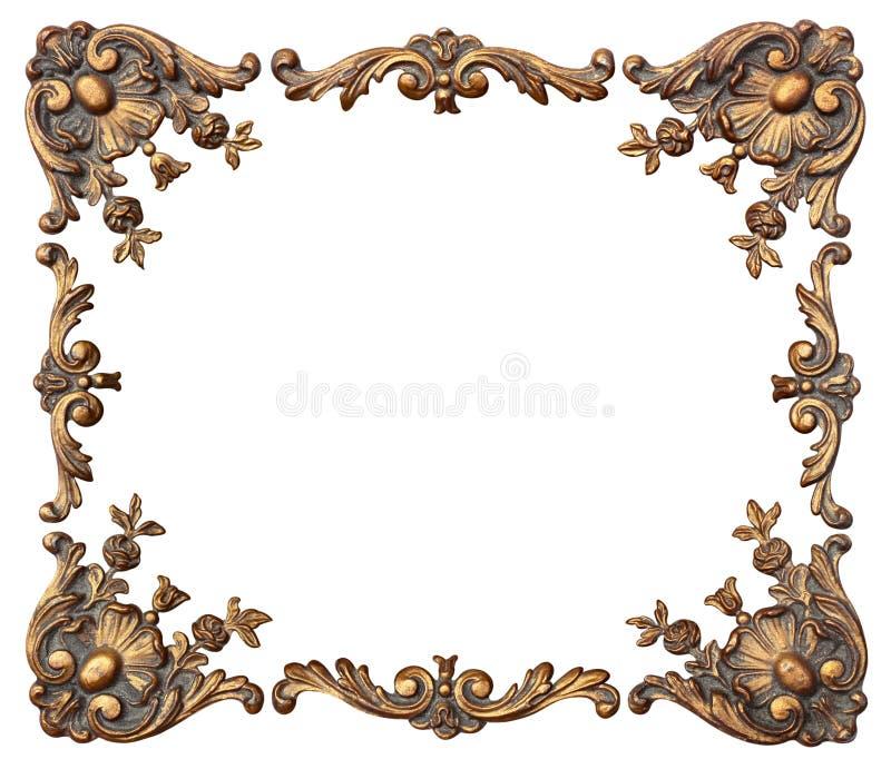 Cantos ornamentado da foto ilustração do vetor