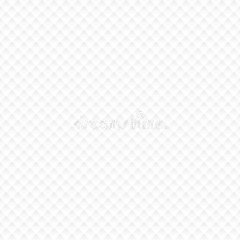 Cantos pequenos do Livro Branco do teste padrão sem emenda com sombra ilustração stock