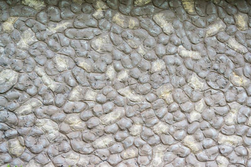 Cantos rodados redondeados gris de piedra del fondo imagen de archivo libre de regalías
