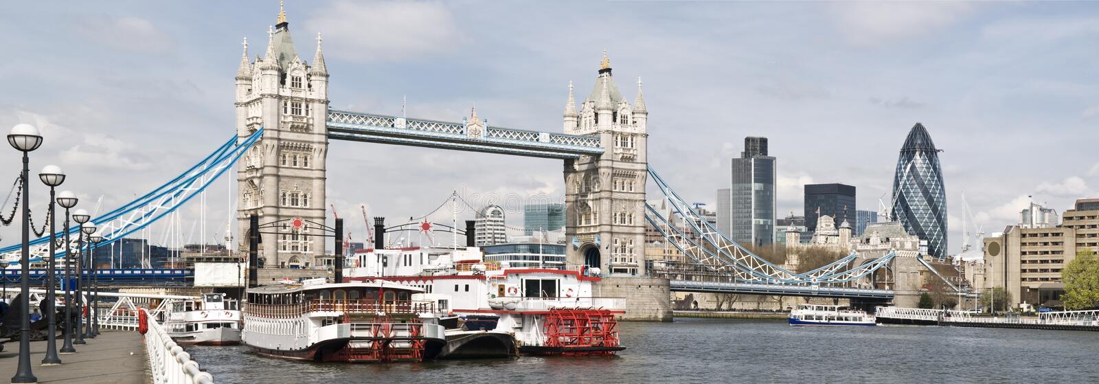 Cantral London Panorama royalty free stock images