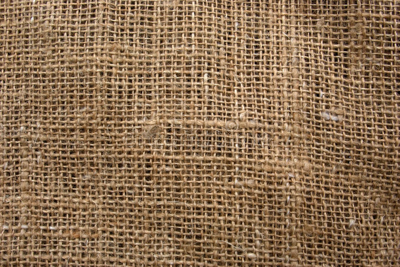 Canvas. Texture of old flax canvas royalty free stock image