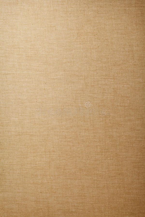 Canvas. Beige canvas texture for background, vintage style stock photography