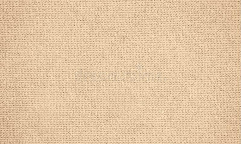 Canvas with delicate grid to use as grunge horizontal background or texture royalty free illustration