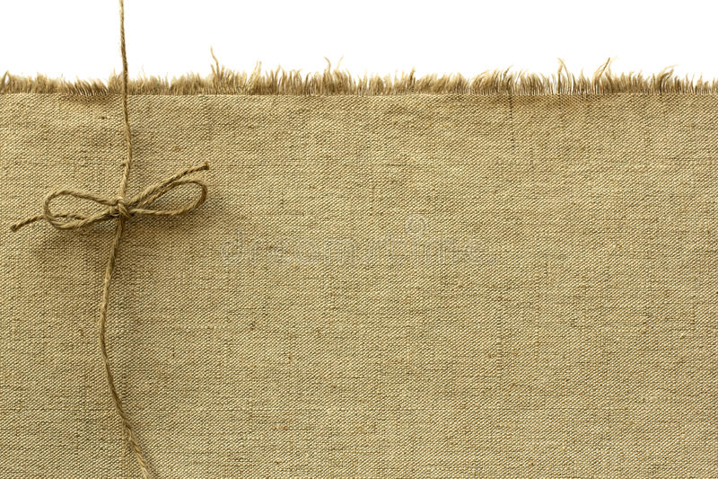 Canvas en kabel stock foto