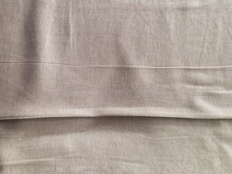 Canvas flesh-colored cloth with lines seams stock image