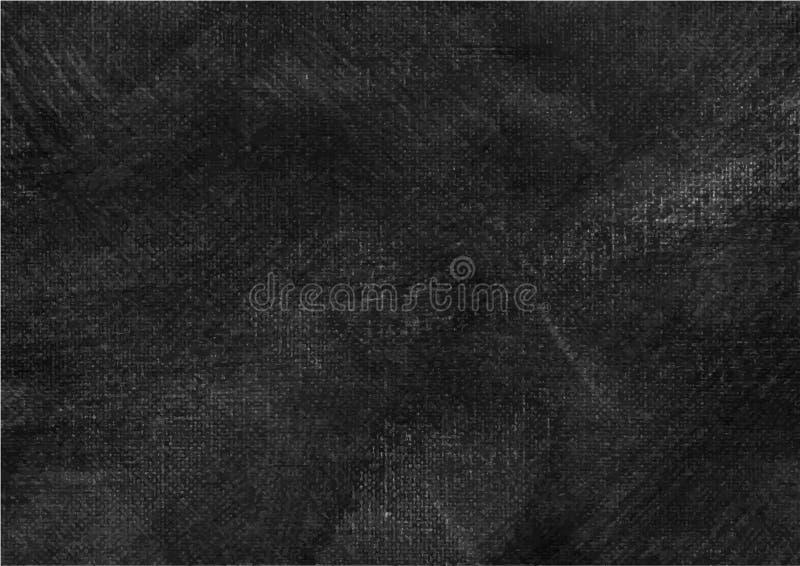Canvas grunge vector gevonden textuur 8 royalty-vrije illustratie