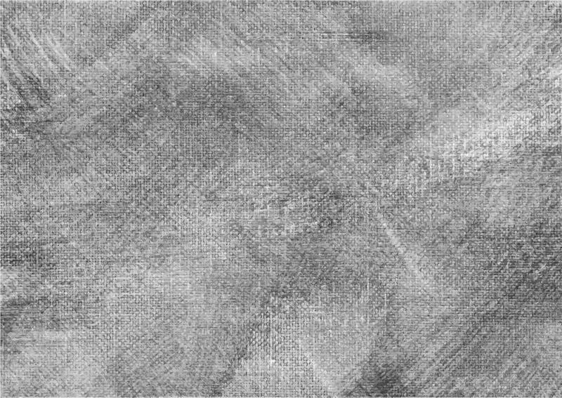 Canvas grunge vector gevonden textuur 7 royalty-vrije illustratie