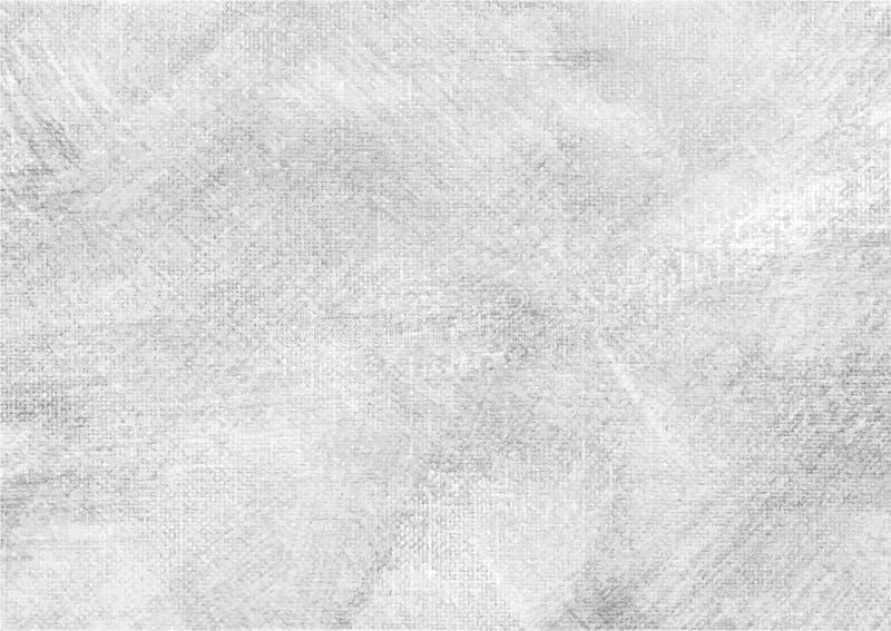 Canvas grunge vector gevonden textuur 6 royalty-vrije illustratie