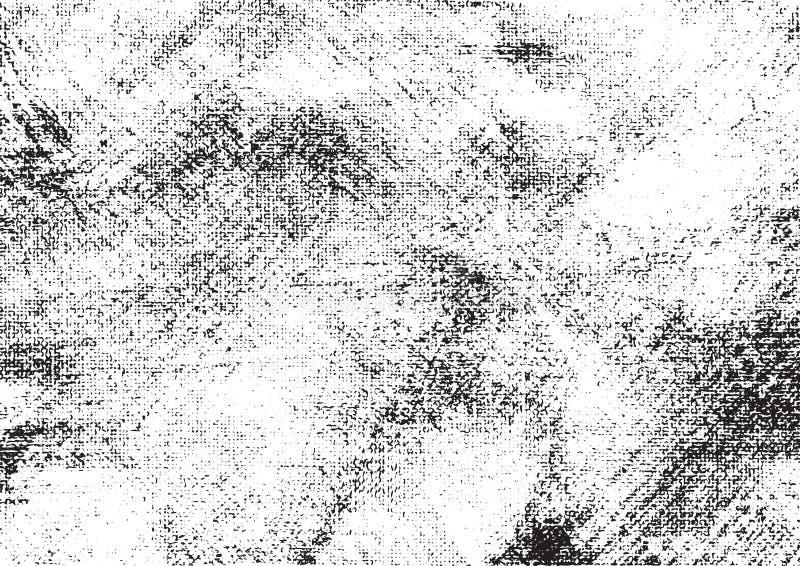 Canvas grunge vector gevonden textuur 2 stock illustratie