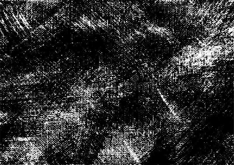 Canvas grunge vector gevonden textuur 4 vector illustratie
