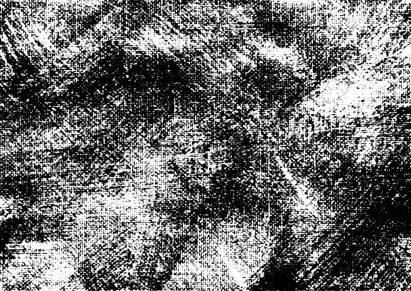 Canvas grunge vector gevonden textuur 3 stock illustratie