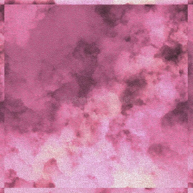Canvas het schilderen achtergrond Decor als thema gehad ontwerp Kwaststreken geschilderde oppervlakte stock illustratie