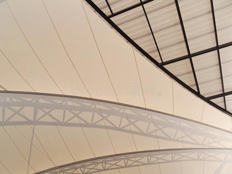 Canvas roof royalty free stock images